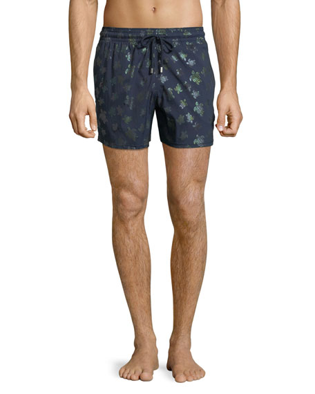 Men's Mordore Metallic Turtles Swim Trunks