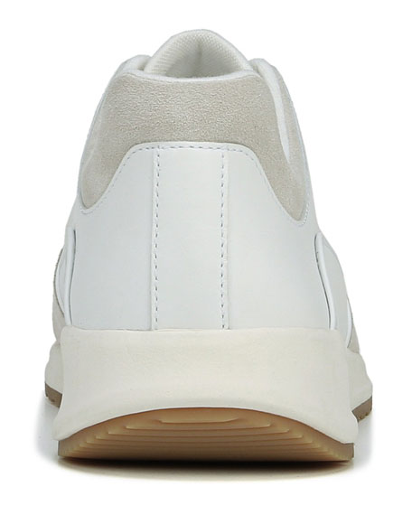 Men's Griffin Suede-Trim Leather Sneakers