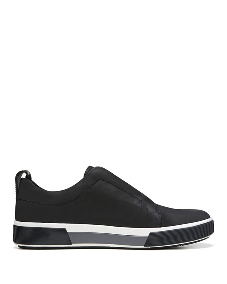 Men's Ranger Suede/Canvas Slip-On Low-Top Sneakers