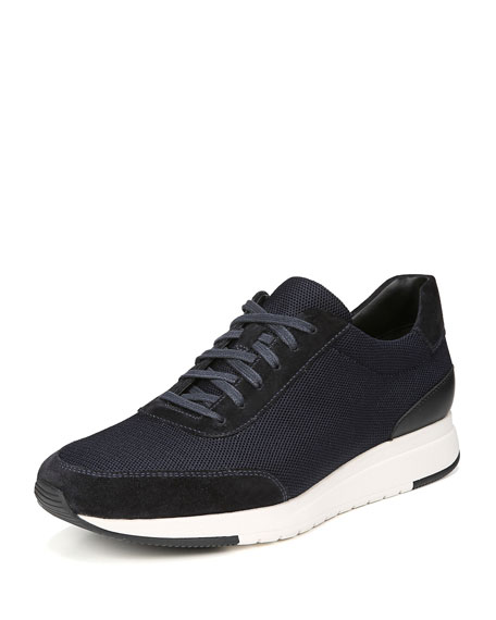 Men's Paton 2 Suede-Trim Mesh Sneakers