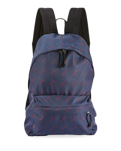 Men's Explorer Logo-Print Backpack
