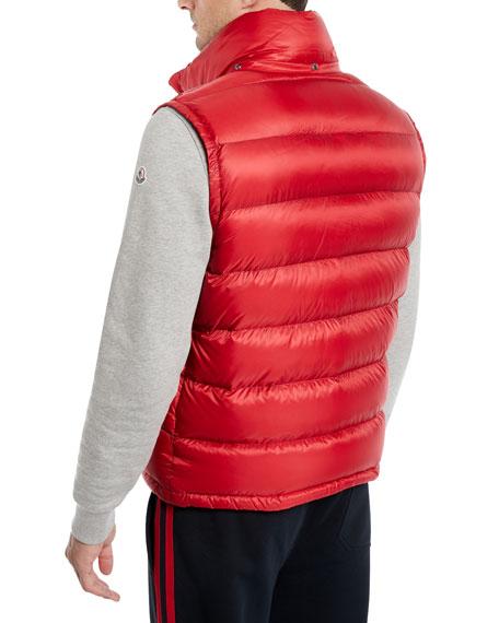 Men's Gers Zip-Front Puffer Vest