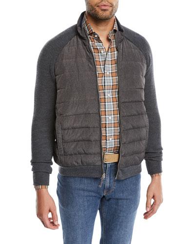Men's Crown Elite Light Hybrid Puffer Jacket