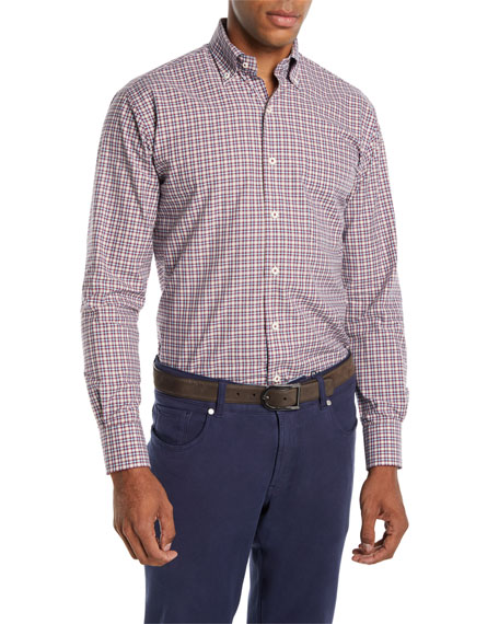 Peter Millar Men's Albertville Check Sport Shirt