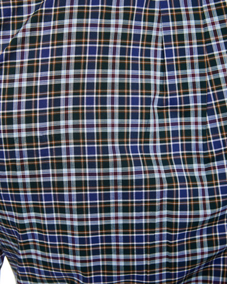Men's Acadia Tartan Plaid Sport Shirt