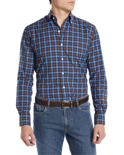 Men's Moorland Multi-Gingham Sport Shirt