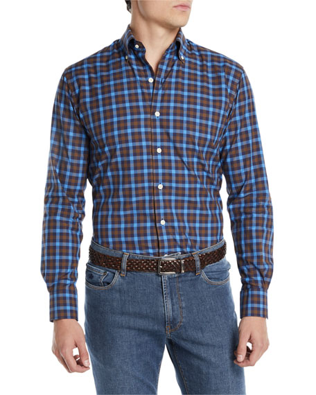 Men's Moorland Multi-Gingham Sport Shirt