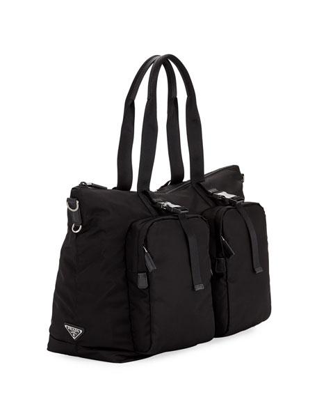 Men's Tessuto Montagna Duffel Bag with Strap