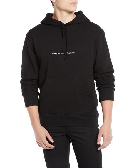 CALVIN KLEIN 205W39NYC Men's Logo Pullover Hoodie