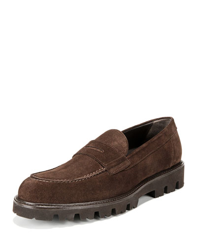 Men's Comrade Suede Lug-Sole Loafer