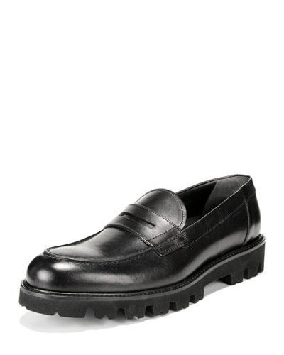 Men's Comrade Leather Lug-Sole Loafer