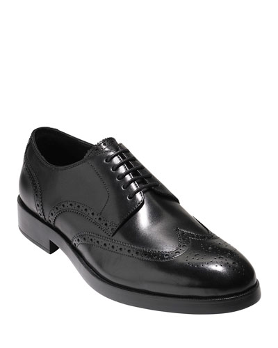 Harrison Wing-Tip Leather Oxford