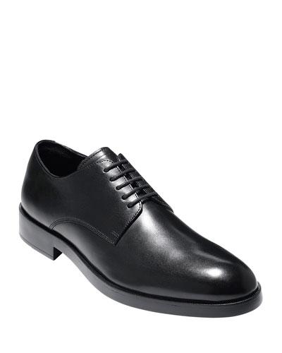 Men's Harrison Grand Leather Derby Shoe, Black