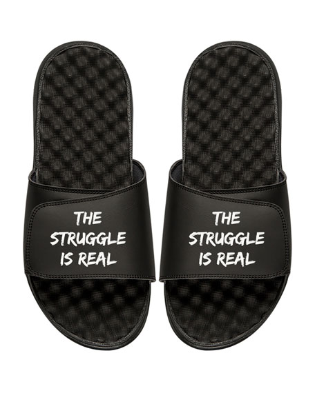 Men's The Struggle Is Real Slide Sandal