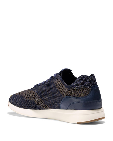Men's GrandPro Knit Runner Sneakers, Blue