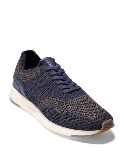 Men's GrandPro Knit Runner Sneaker, Blue
