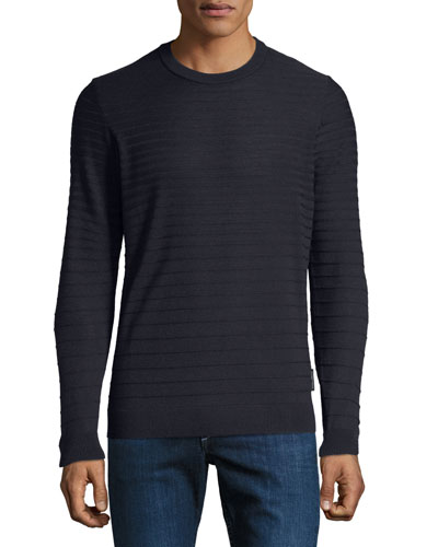Men's Maglia Tonal Stripe Sweater