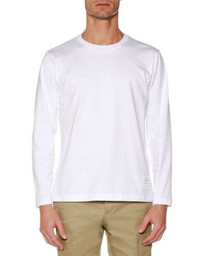 Men's Relaxed-Fit Long-Sleeve Jersey T-Shirt