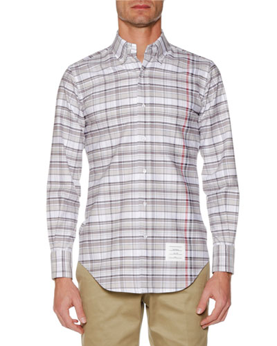 Men's Check Oxford Shirt