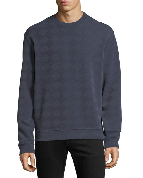 Men's Geometric Jacquard Sweatshirt