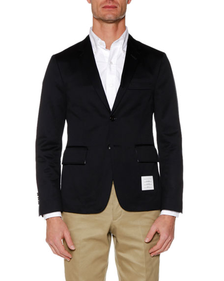 Unstructured Classic Twill Jacket