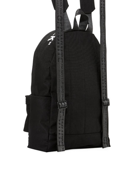 Men's Air Quote Canvas Backpack