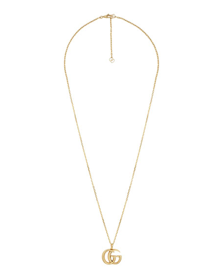 Men's 18k Gold GG Running Necklace