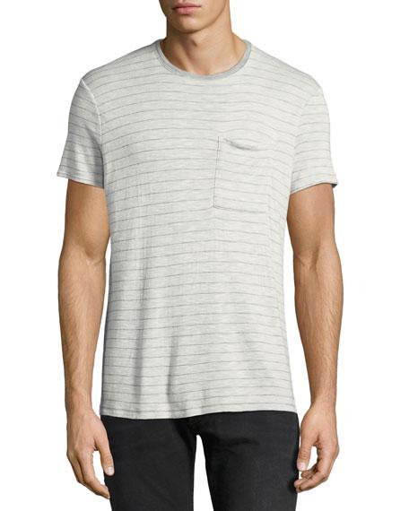 Men's Striped Slub T-Shirt