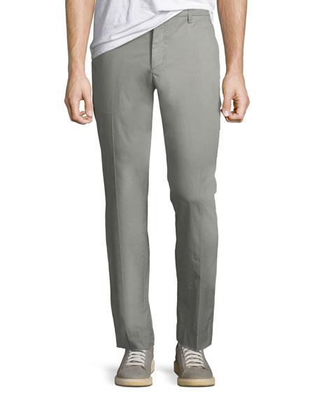 Men's Garment-Washed Poplin Pants