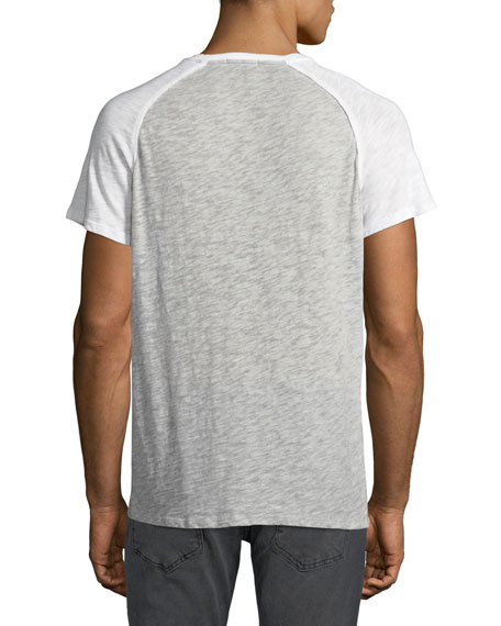 Men's Raglan-Sleeve Baseball T-Shirt