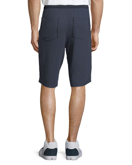 Pique Knit Pima Cotton Shorts
