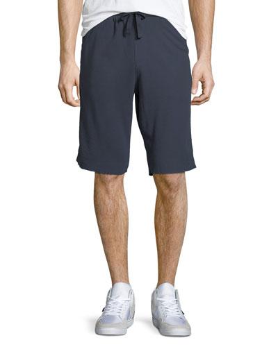 Pique Knit Pima Cotton Shorts