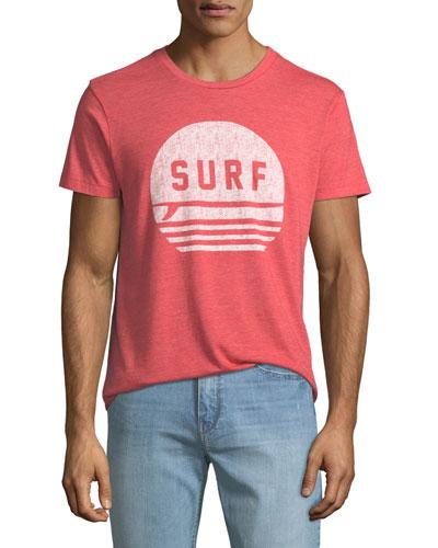 Men's Surf Graphic T-Shirt
