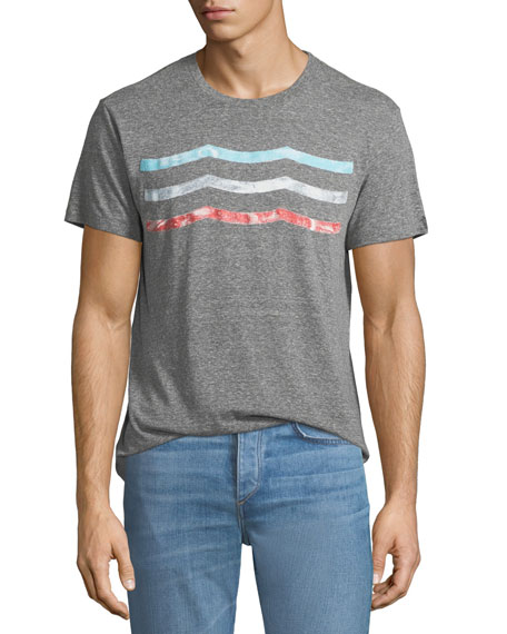 Sol Angeles Men's Vintage Waves Graphic T-Shirt