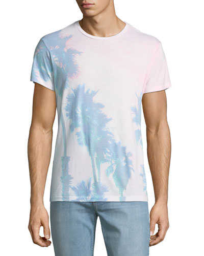 Men's Summer Sunset Graphic T-Shirt