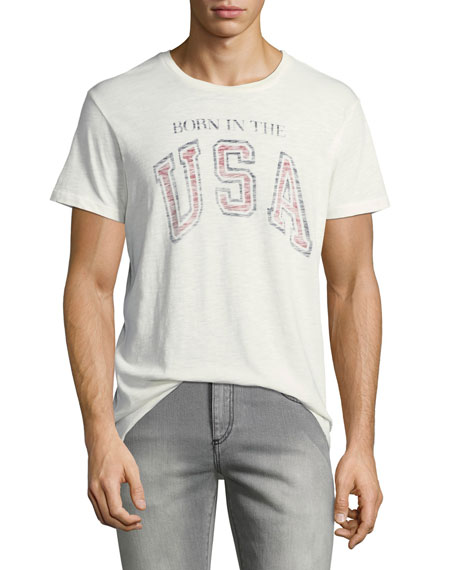 Sol Angeles Men's Born in the USA Typographic