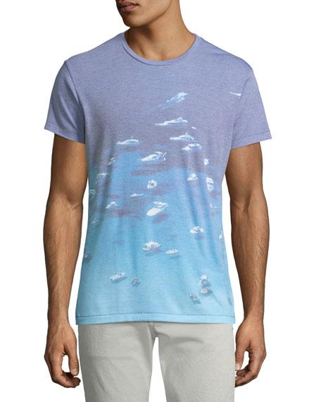 Men's Yacht Rock Graphic T-Shirt
