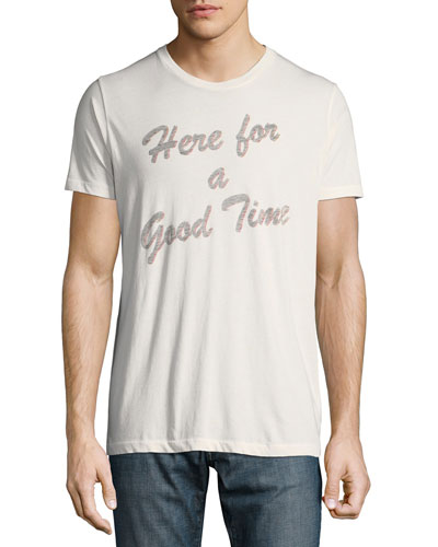 Men's Here for a Good Time Graphic T-Shirt