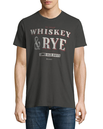 Men's Whiskey & Rye Graphic T-Shirt