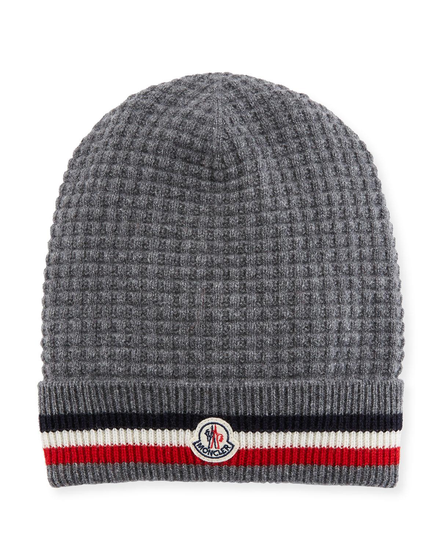 0482eb2243e Moncler Men s Tricot-Knit Beanie Hat
