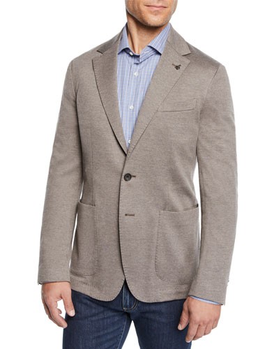 Men's Knit Blazer