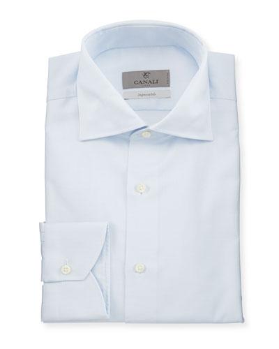 Impeccabile Micro-Neat Dress Shirt