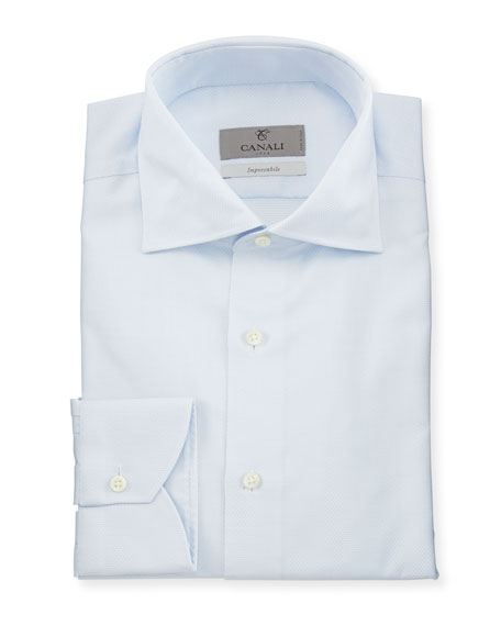 Canali Impeccabile Micro-Neat Dress Shirt