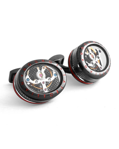 Panorama Tourbillon Cuff Links