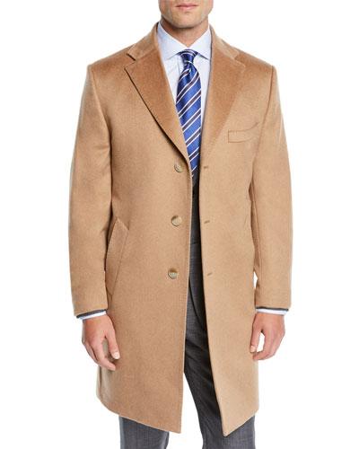 Men's Cashmere Top Coat