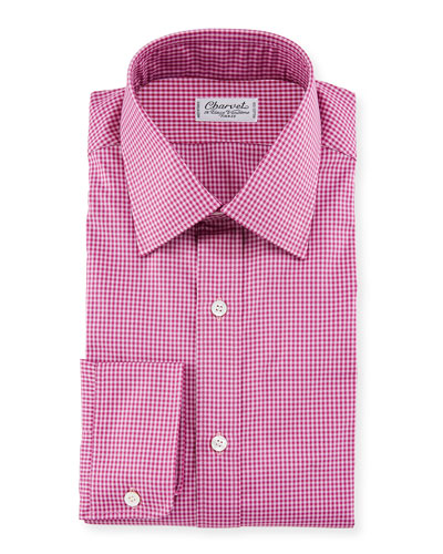 Men's Tonal Tattersall Dress Shirt