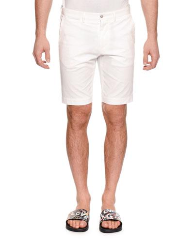 Men's Straight-Leg Denim Shorts