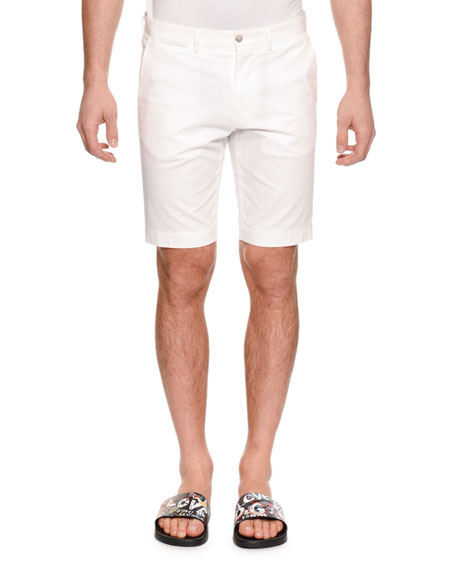 Dolce & Gabbana Men's Straight-Leg Denim Shorts