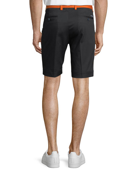Men's Two-Tone Twill Shorts
