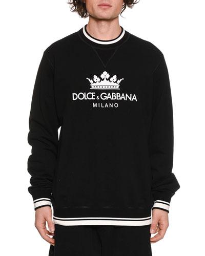 Men's D&G Crown Logo Sweatshirt